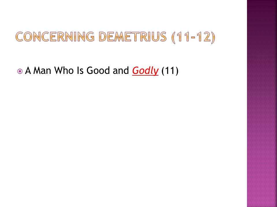  A Man Who Is Good and Godly (11)