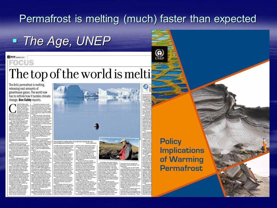  The Age, UNEP
