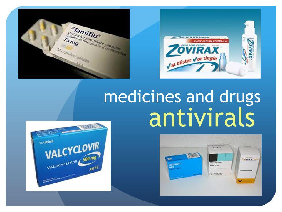 medicines and drugs antivirals