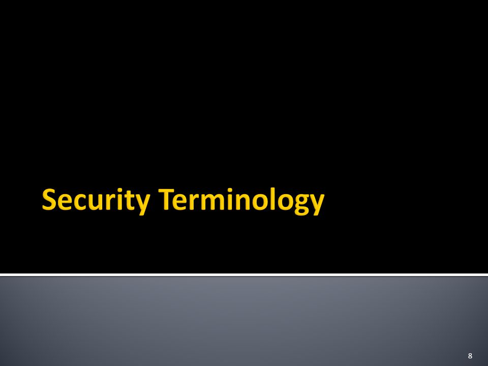 Page : 29 Risk  A qualitative assessment describing the likelihood of an attacker/threat using an exploit to ▪ successfully bypass a defender ▪ Attack a vulnerability ▪ Compromise a system Risk analysis :  Provides a quantitative means of determining whether an expenditure on safeguards is warranted