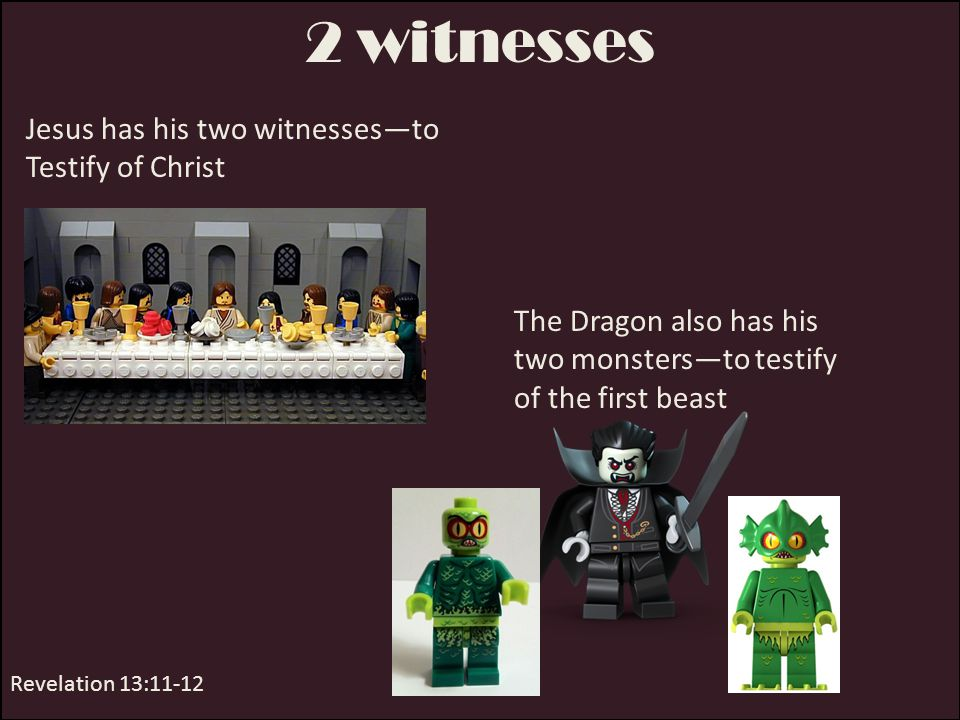 Great Wonders 2 nd Beast performs miracles Revelation 13:13-14 Satan will do all he can to get all people to follow him, to worship him by living wickedly in the last days.