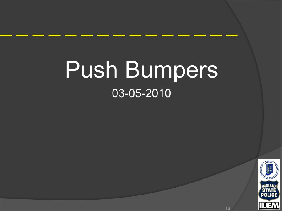 Push Bumpers 03-05-2010 13
