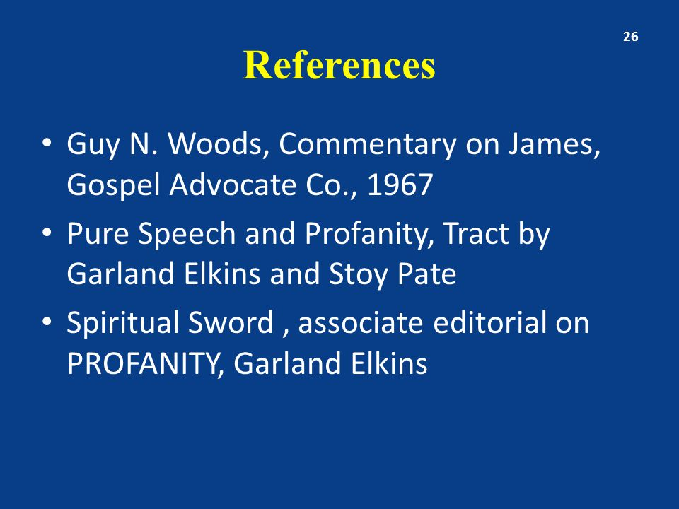 References Guy N.