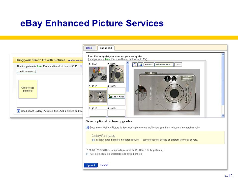 eBay Enhanced Picture Services 4-12