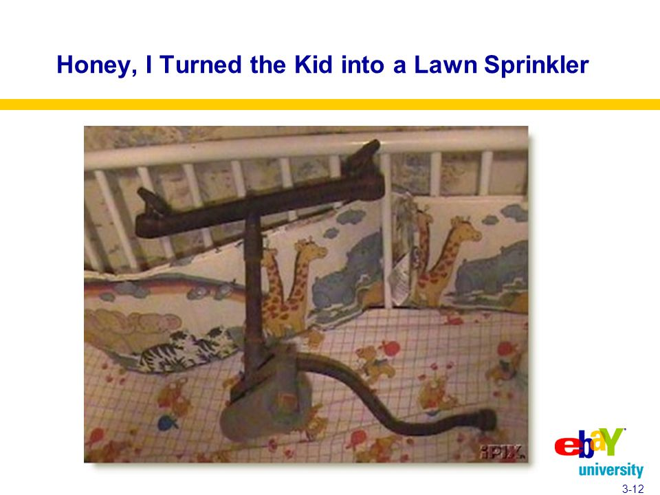 Honey, I Turned the Kid into a Lawn Sprinkler 3-12