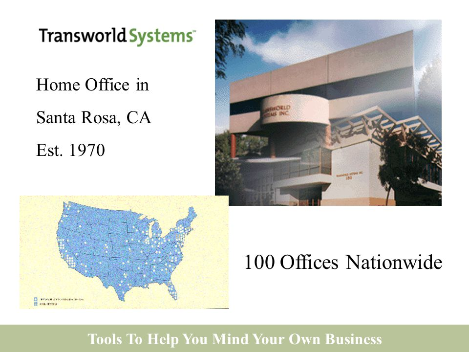 Tools To Help You Mind Your Own Business 100 Offices Nationwide Home Office in Santa Rosa, CA Est.