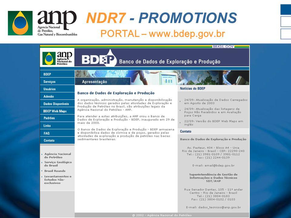 NDR7 - PROMOTIONS PORTAL – www.bdep.gov.br