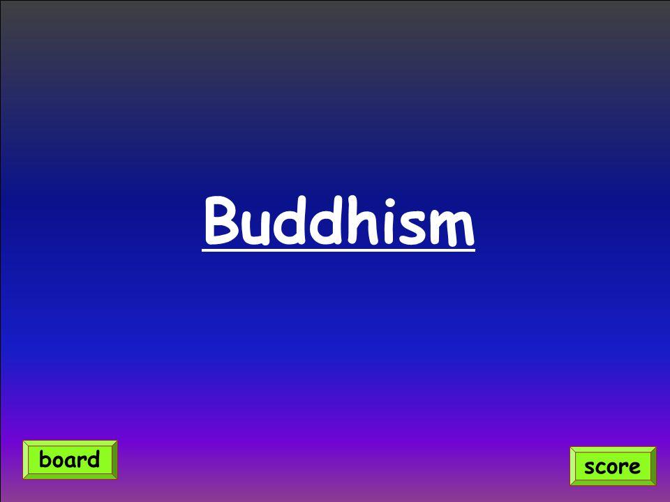 Buddhism score board