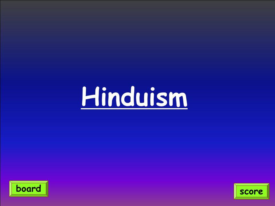 Hinduism score board