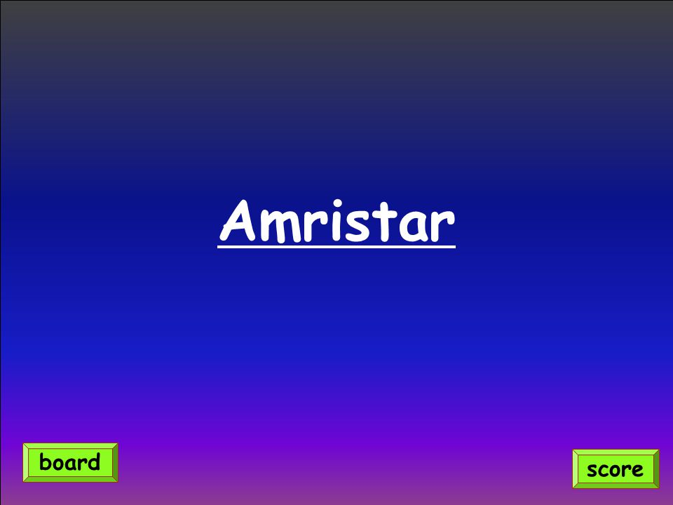 Amristar score board