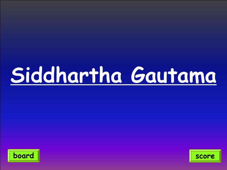 Siddhartha Gautama score board