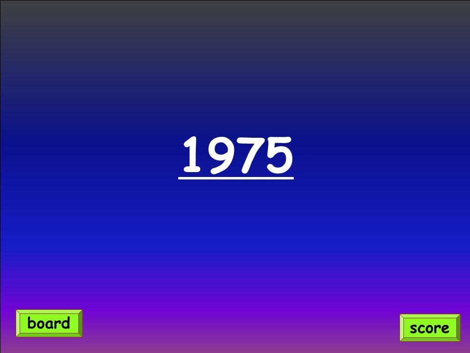 1975 score board