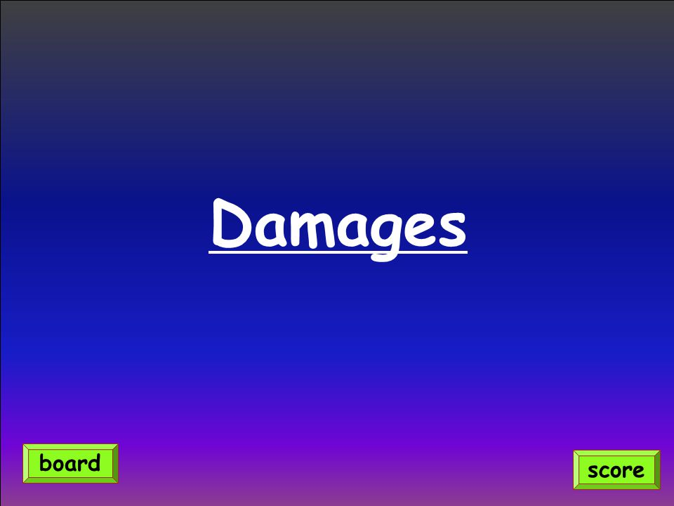 Damages score board