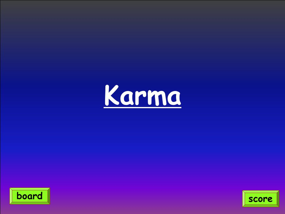 Karma score board