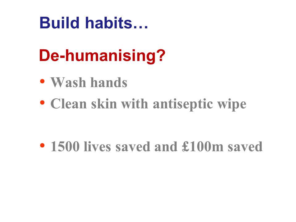 De-humanising