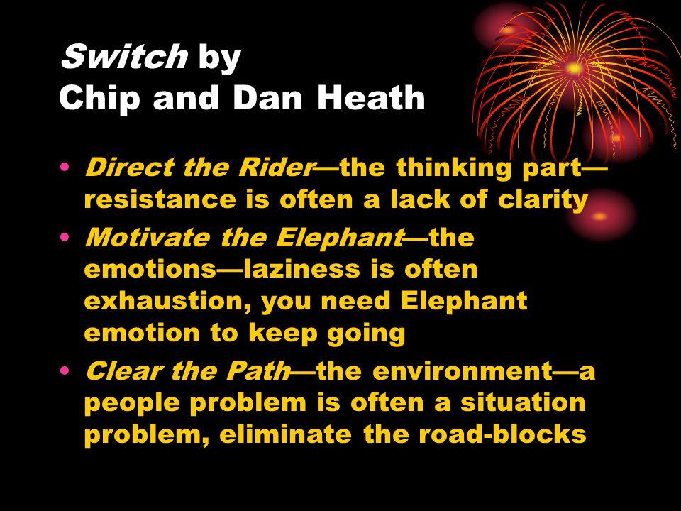 Motivate the Elephant...