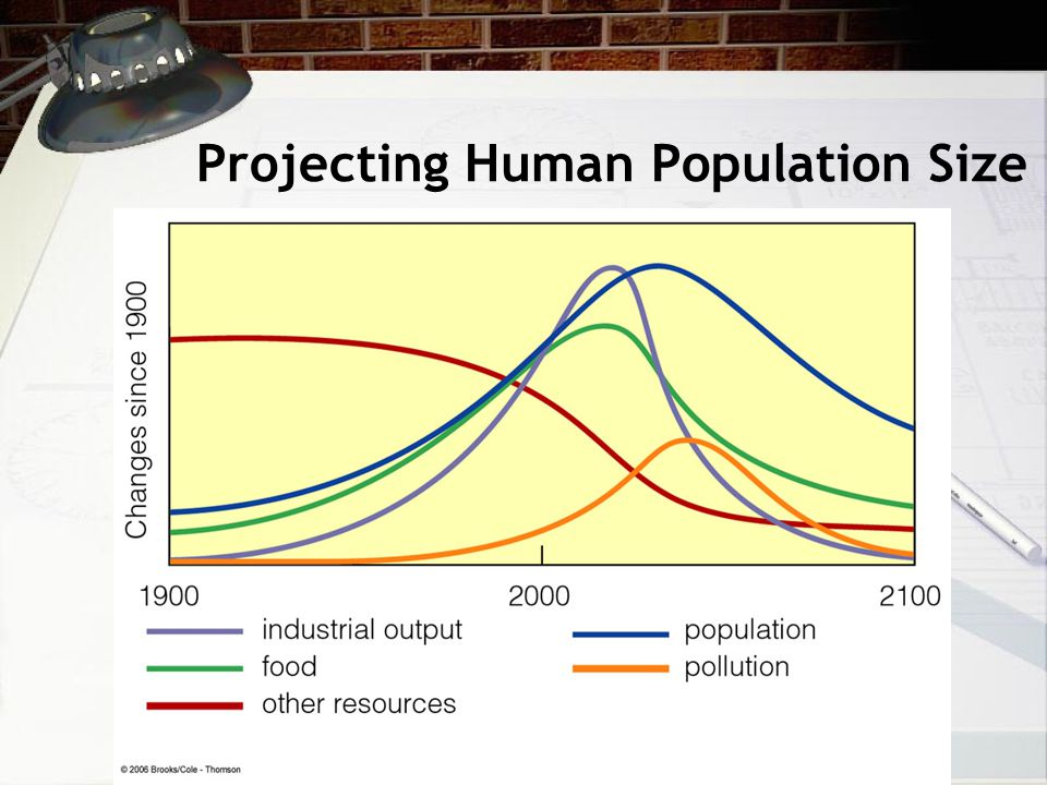 Projecting Human Population Size