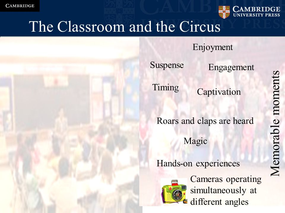 The Classroom and the Circus 1.