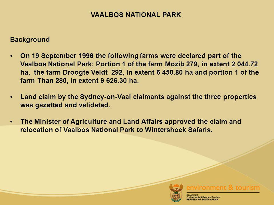 VAALBOS NATIONAL PARK
