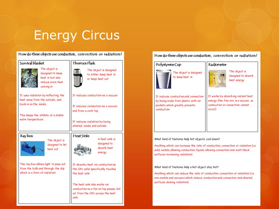 Thermos Flask  Can you explain how a thermos flask works in terms of energy transfer.