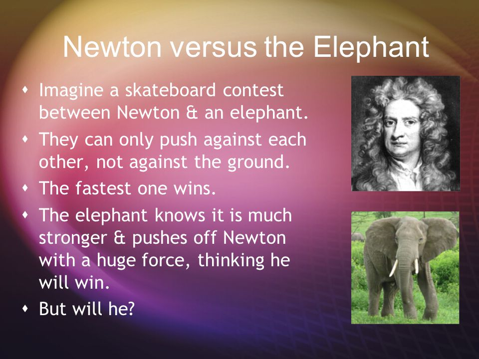 33. Newton's 3rd law http://www.youtube.com/watch?v=cP0Bb3WXJ_k