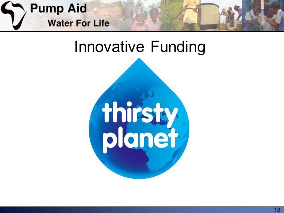 18 Innovative Funding