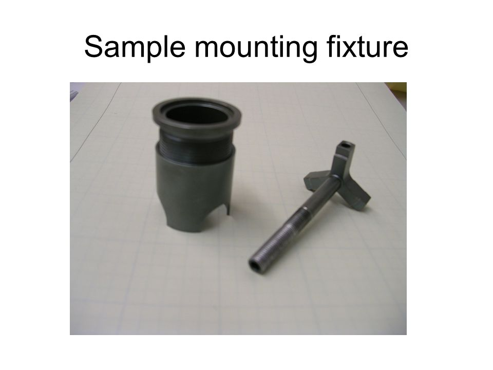 Sample mounting fixture