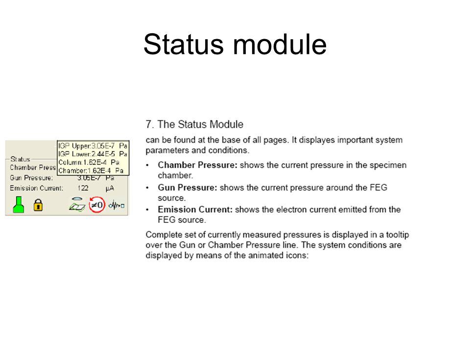Status module