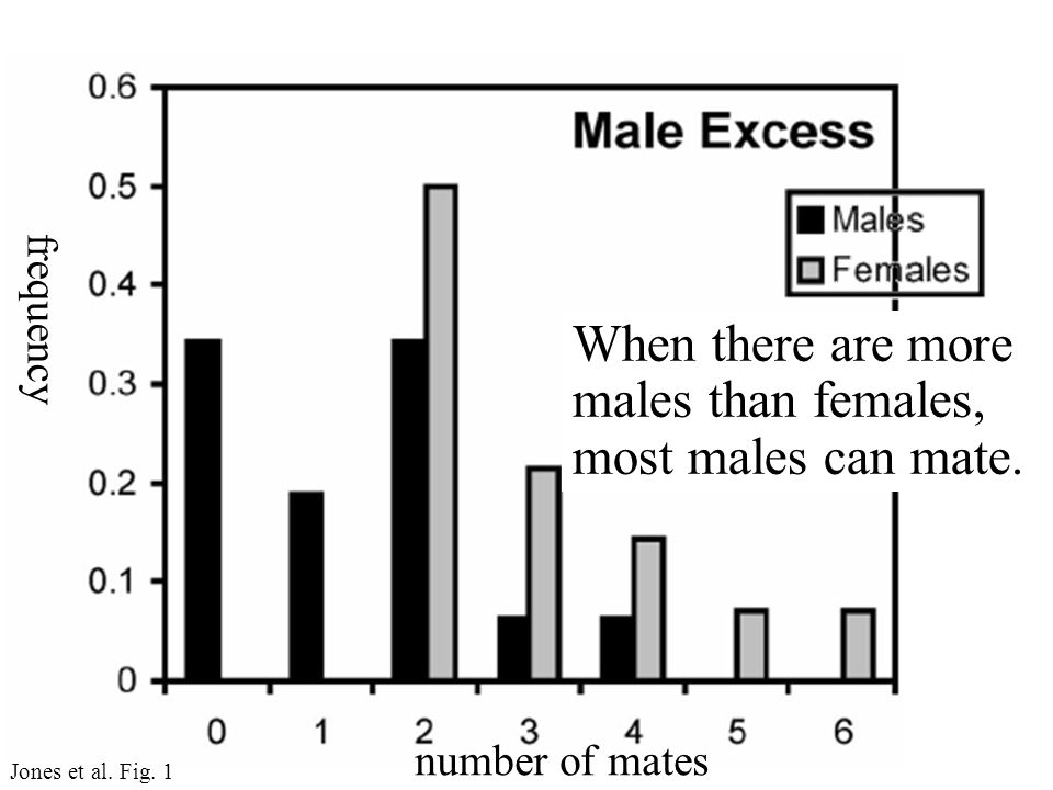 frequency number of mates Jones et al. Fig.