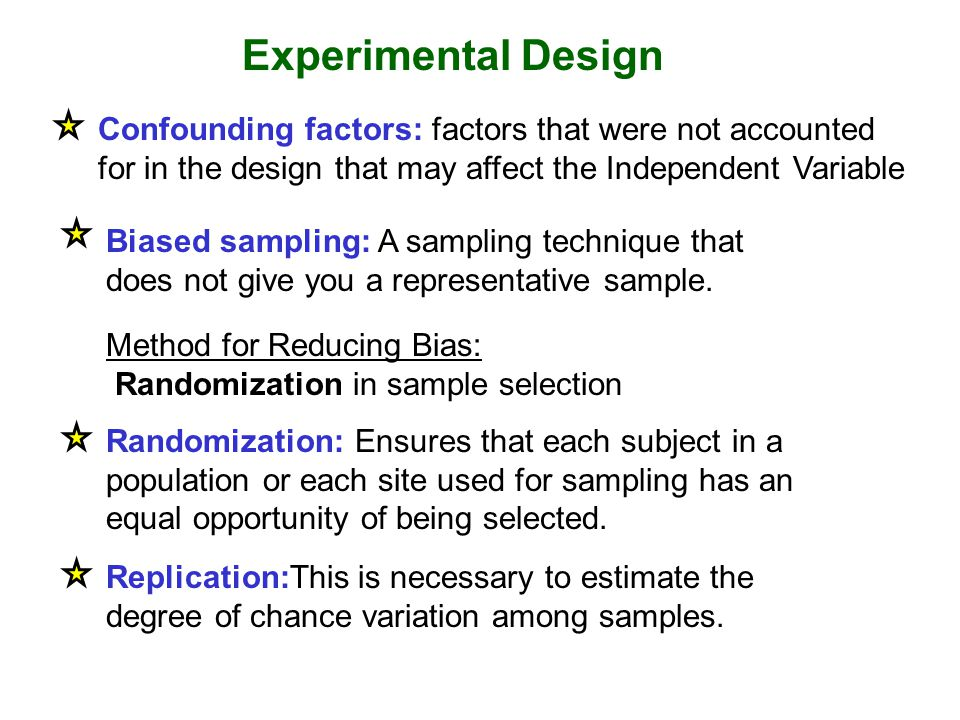 Biased sampling: A sampling technique that does not give you a representative sample.