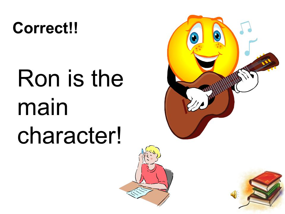 Who is the main character in the story.