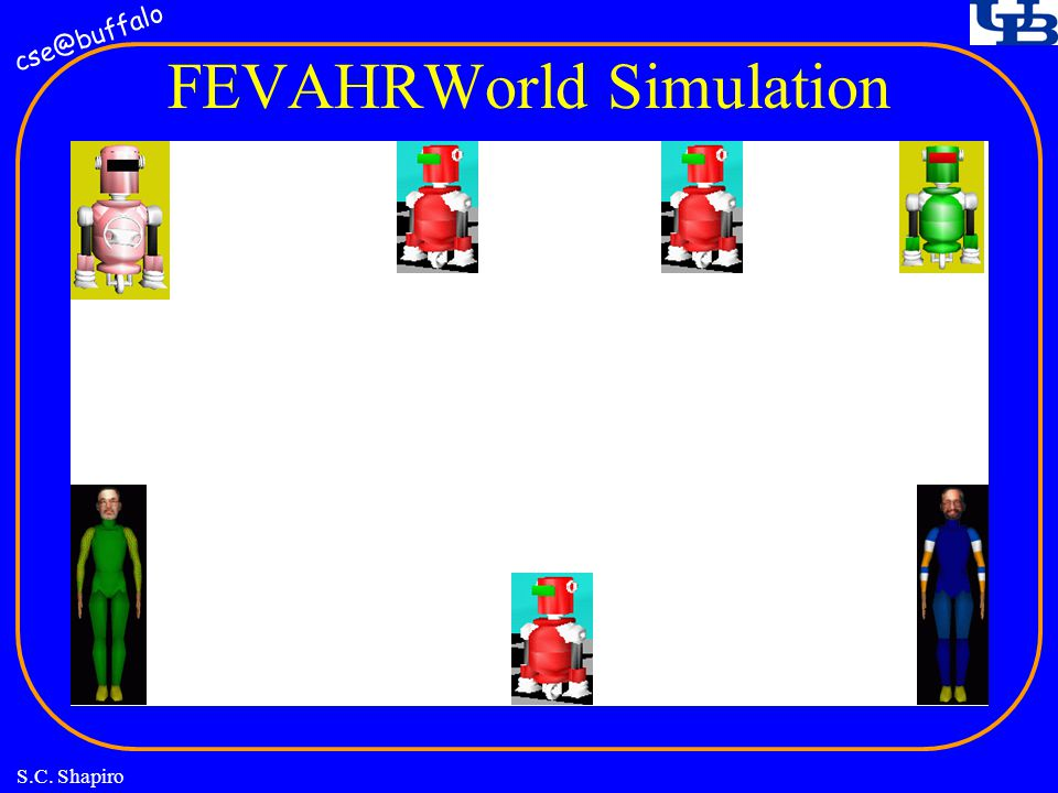 cse@buffalo S.C. Shapiro FEVAHRWorld Simulation