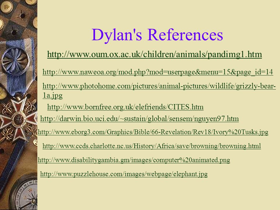 Dylan s Credits I would like to thank Jordan P. and Mitchell M.