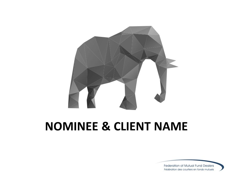 NOMINEE & CLIENT NAME