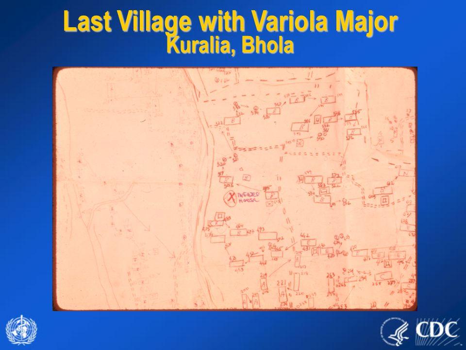 Last Village with Variola Major Kuralia, Bhola