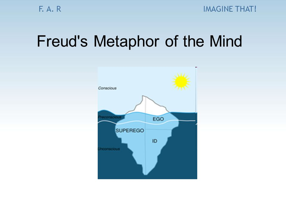 F. A. RIMAGINE THAT! Freud's Metaphor of the Mind