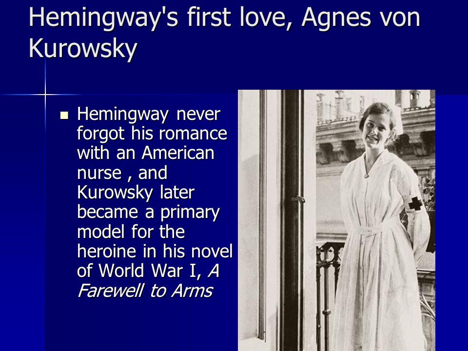 Hemingway in his World War I ambulance driver's uniform
