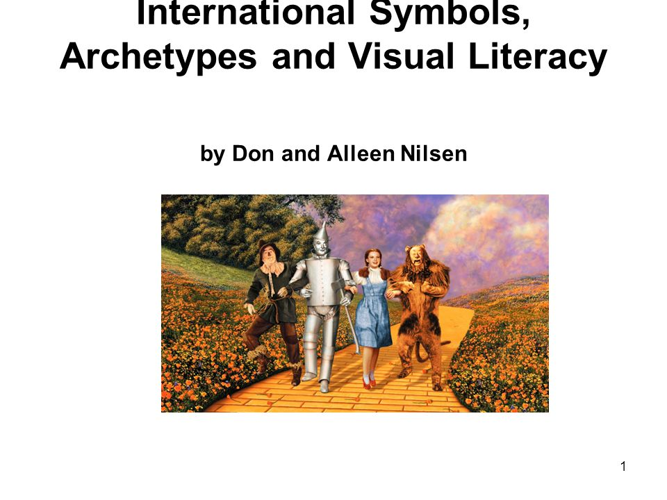 International Symbols, Archetypes and Visual Literacy by Don and Alleen Nilsen 1