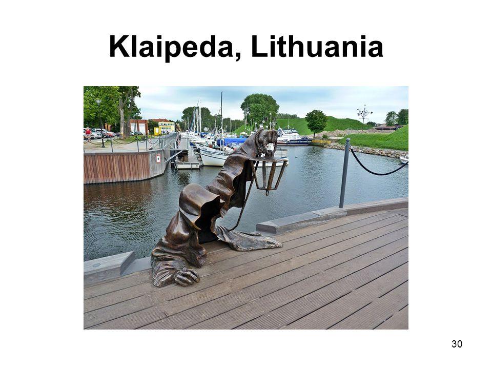 Klaipeda, Lithuania 30