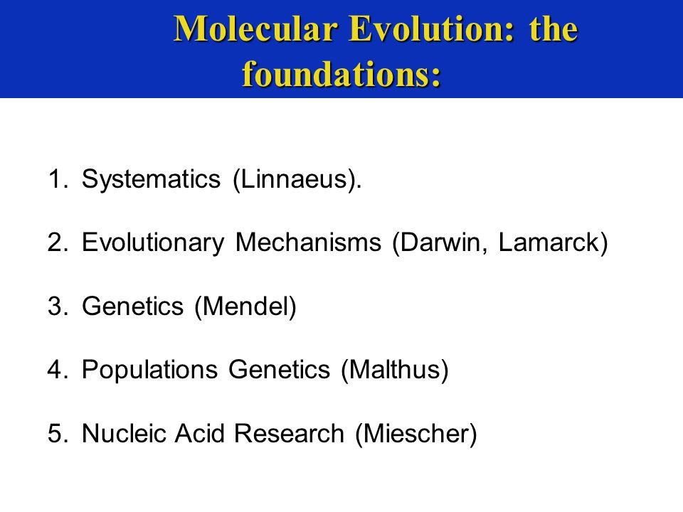 1.Systematics (Linnaeus).