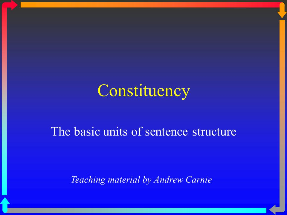 Meaning of a sentence is more than the sum of its words.
