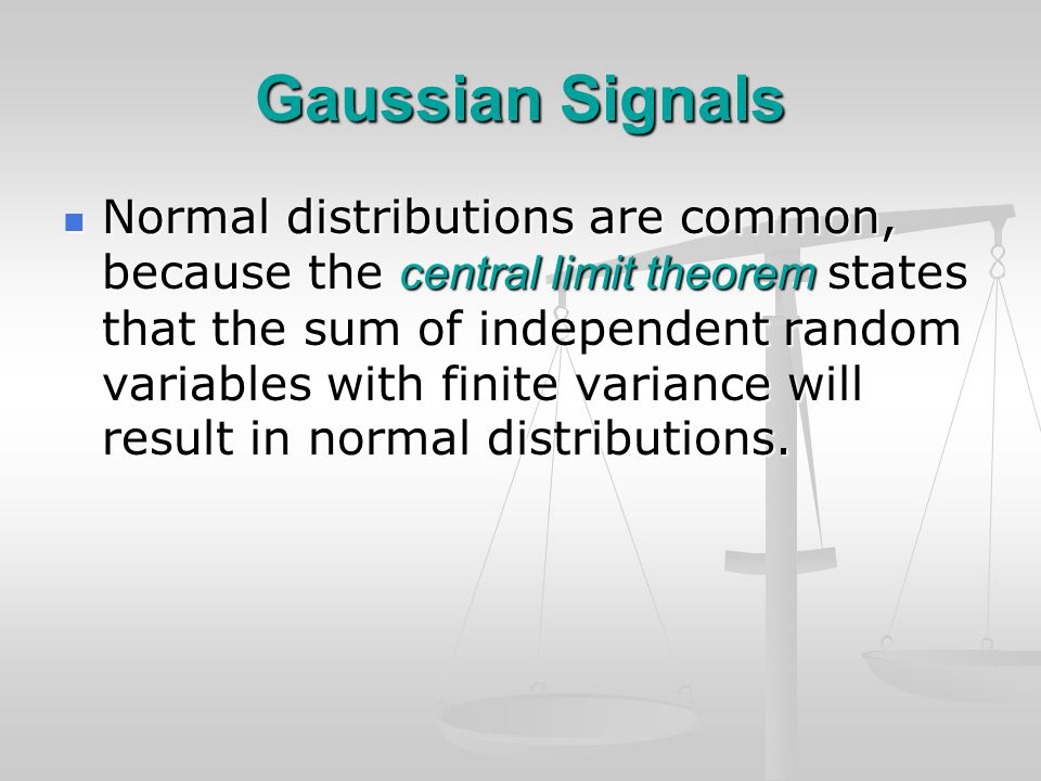 Scale-Scale Correlations The DWT cumulant spectra give a way to characterize different non-Gaussian signals.