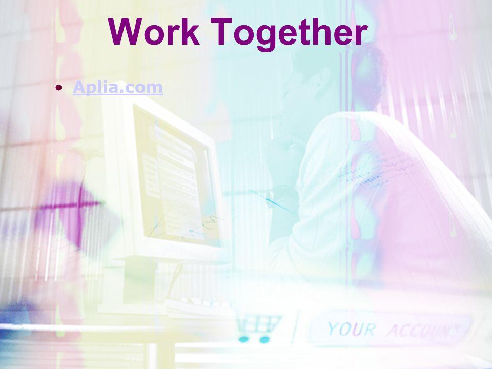 Work Together Aplia.com