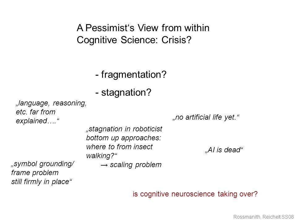 Rossmanith, Reichelt SS08 - fragmentation. - stagnation.