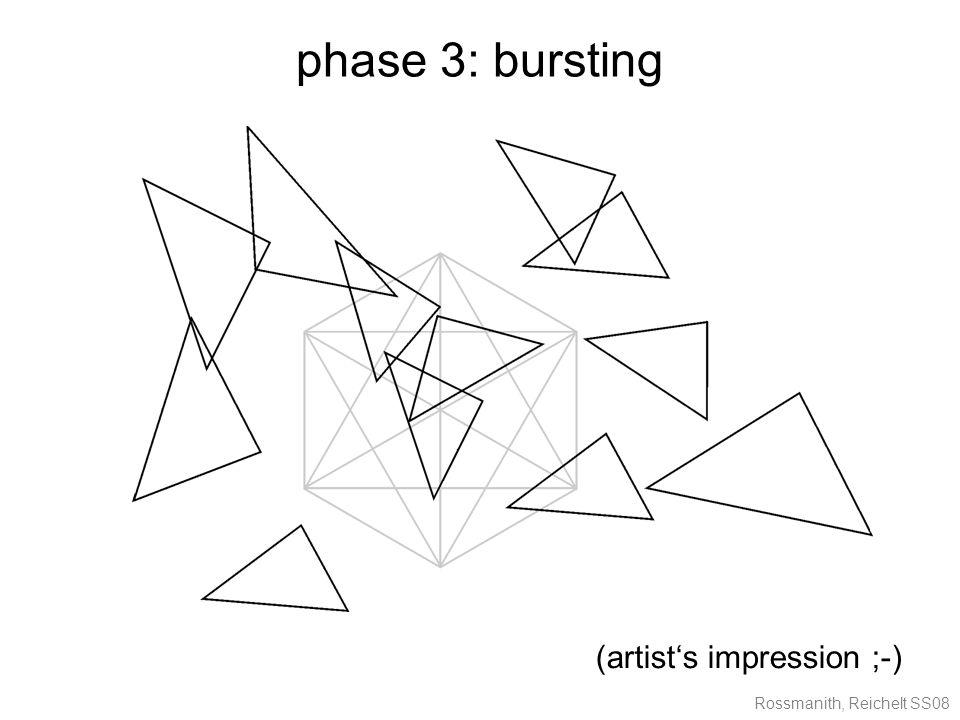 Rossmanith, Reichelt SS08 phase 3: bursting (artist's impression ;-)