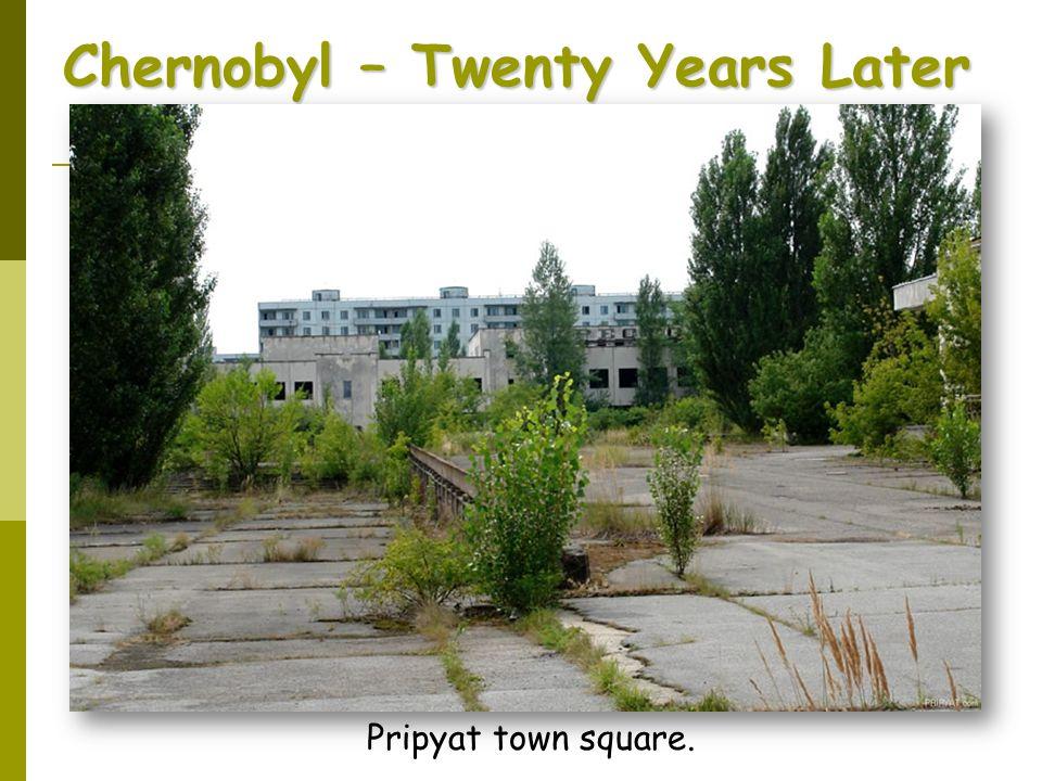 Pripyat town square.