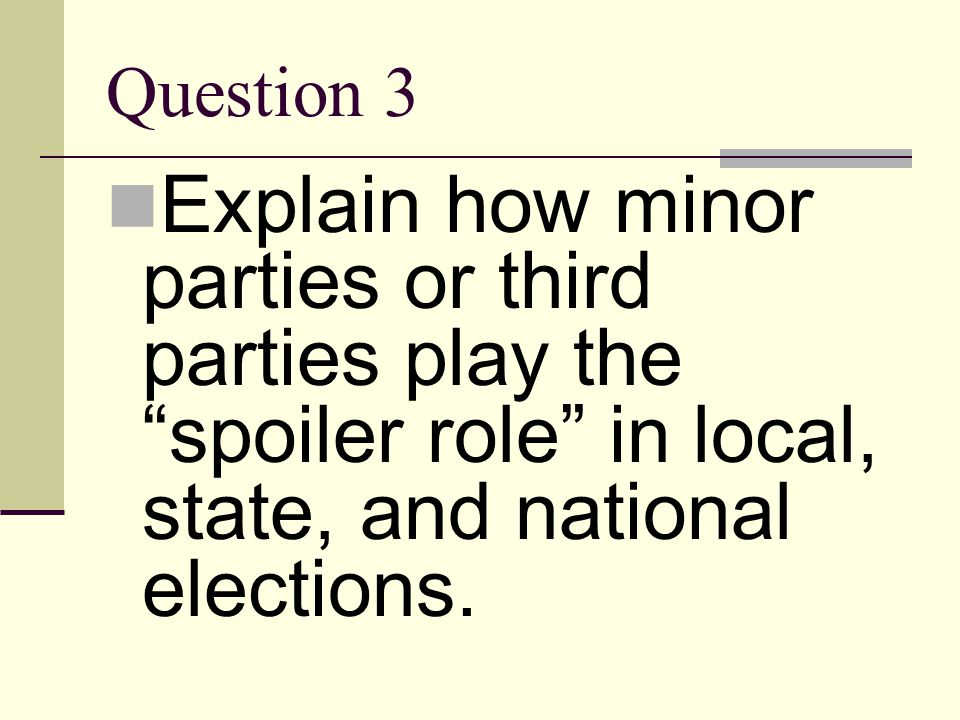 Answer 2 national conventions