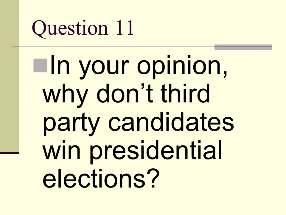 Answer 10 If you do not take an interest in what happening to our country politically, laws may be enacted that could potentially harm you. For exampl