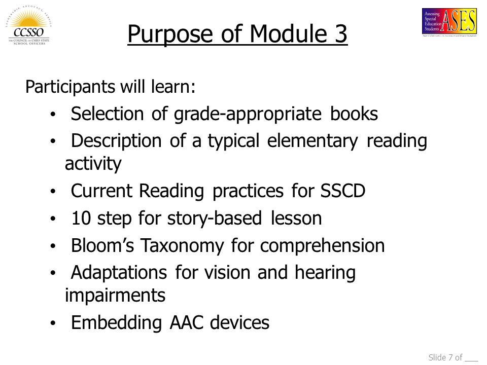 Slide 8 of ___ Why Teach Literacy.