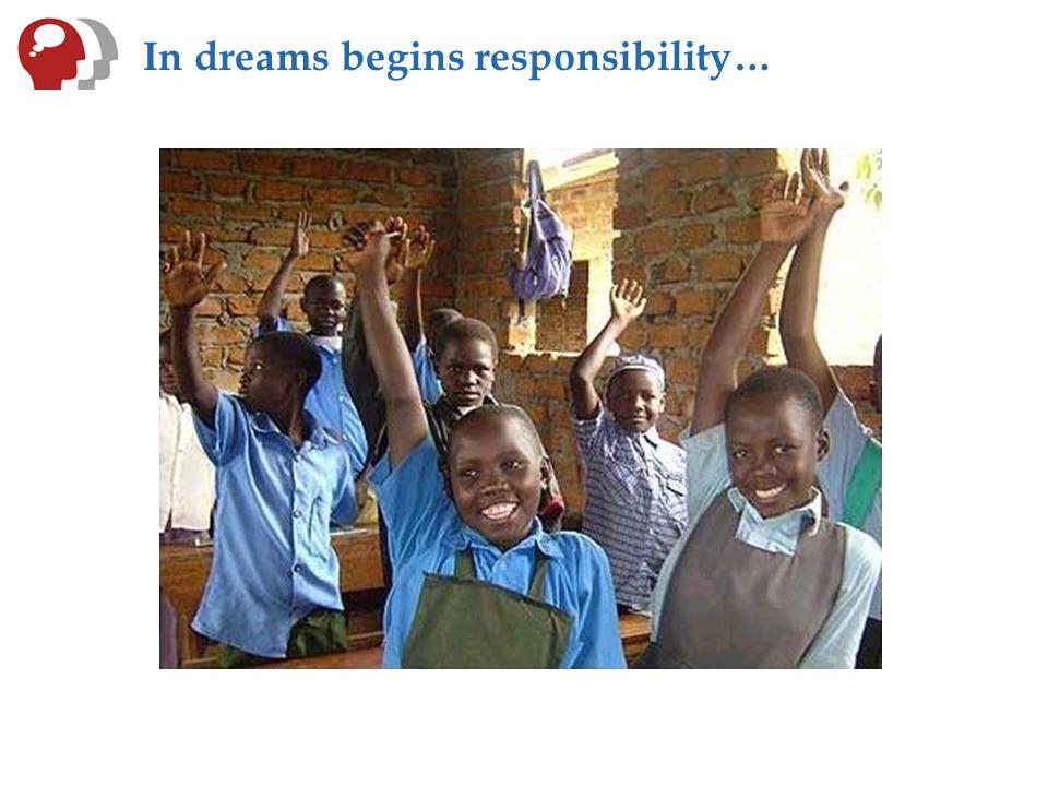 In dreams begins responsibility…